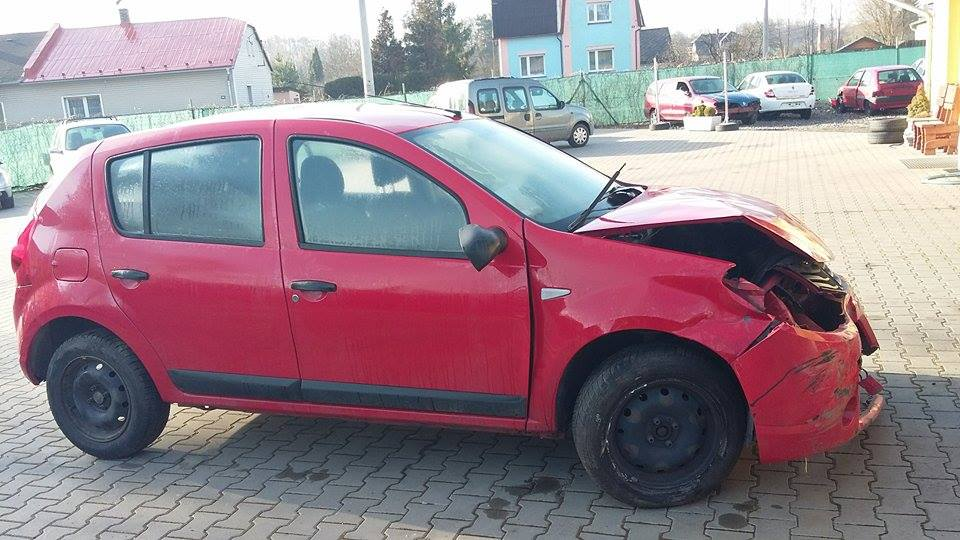 Dacia Sandero 1,4 8v 55 kw